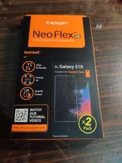 🚚 Spigen Samsung S10 Neo Flex screen protector