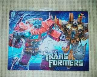 Puzzle Anak karakter Transformer