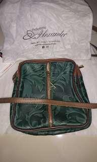 Tas kulit by pelletteria alexander authentic from italy #ramadansale