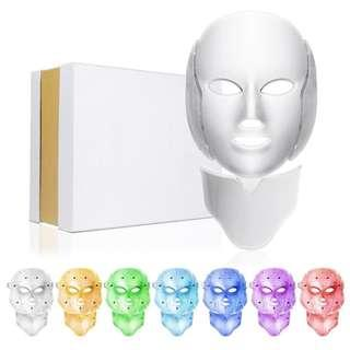 7 colours LED Light Photo Therapy Mask