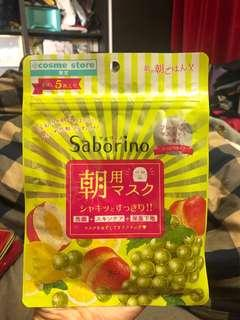🚚 Saborion早安面膜 日本製造 5枚入