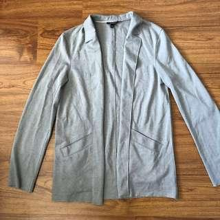 Top shop grey blazer