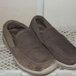 Sepatu Slip On Skechers HarperB Brown 42