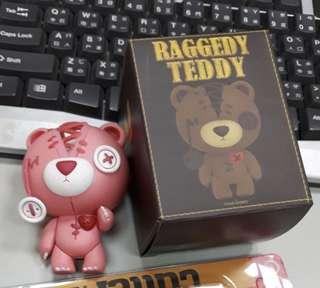 🚚 raggedy teddy撕裂熊