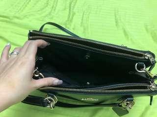 Coach兩用袋2ways bag black