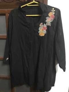 Black top - long sleeve