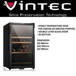 🚚 VINTEC Wine Cellar 30 Bottle Cabinet