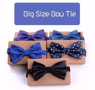 ze Bow Tie 特大領結 II Size 尺寸:12cm (Wide闊) x 6cm (High高)