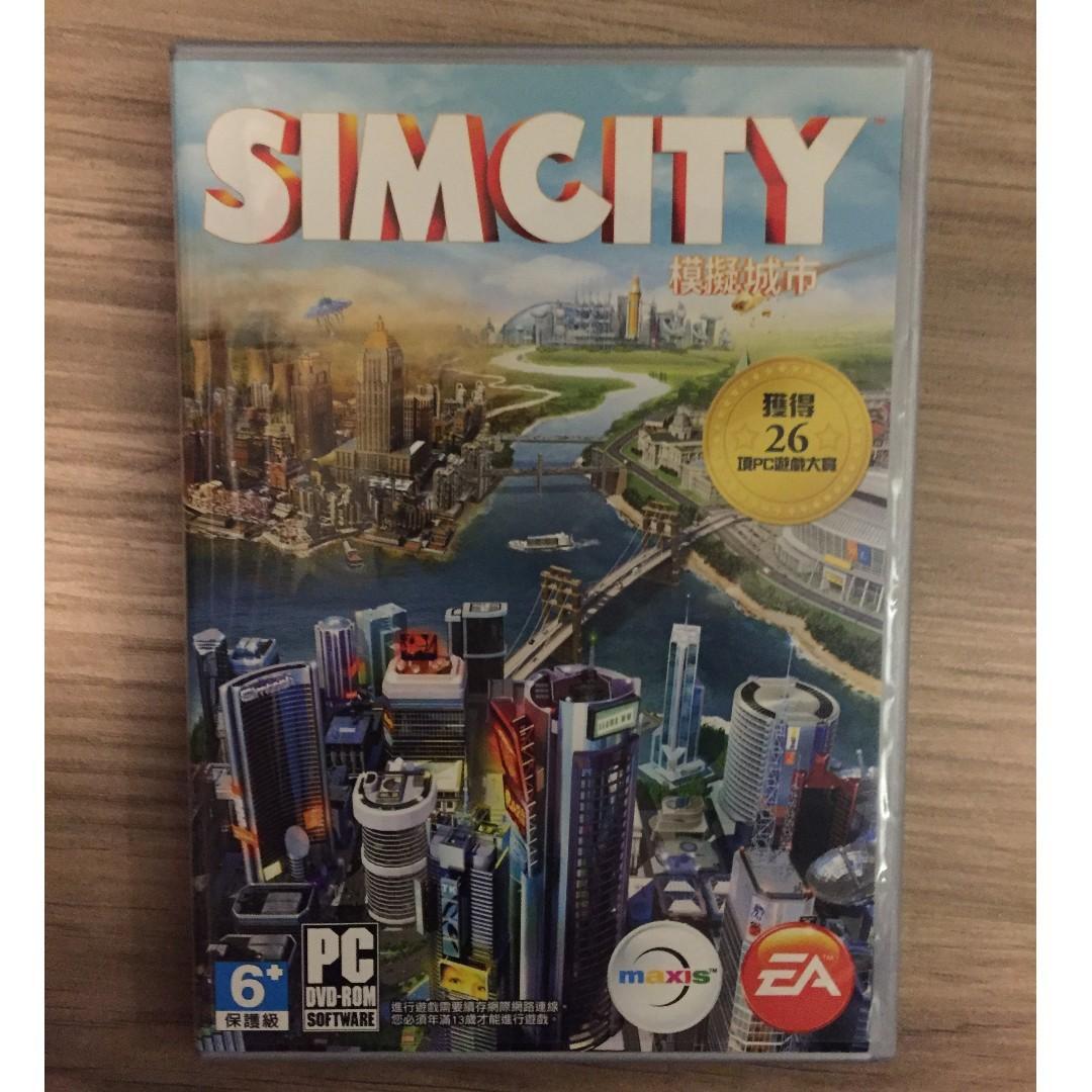 [收藏用] Simcity 模擬城市 包裝盒連 DVD 沒有 cd key 不能遊玩