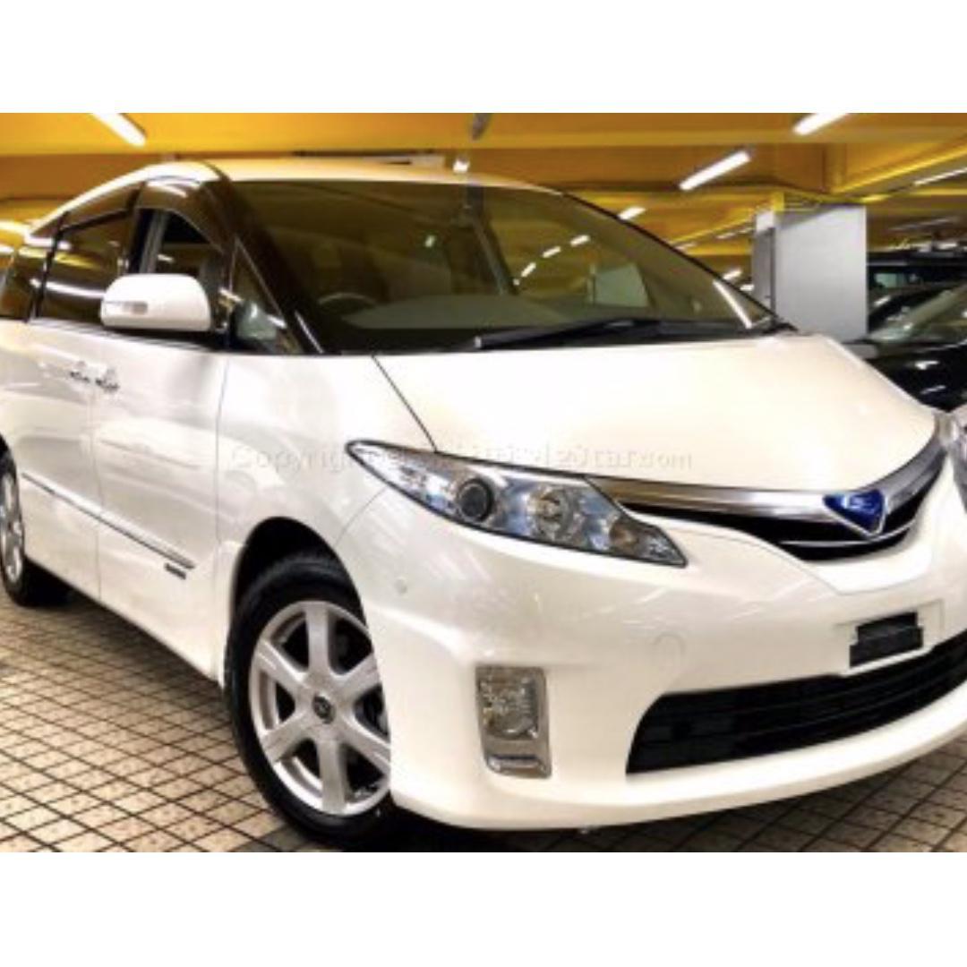 toyota estima hybrid 2.4g facelift