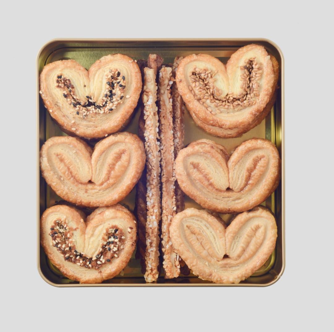 Assorted Palmier 雜錦酥盒 (蝴蝶酥、酥條)250g