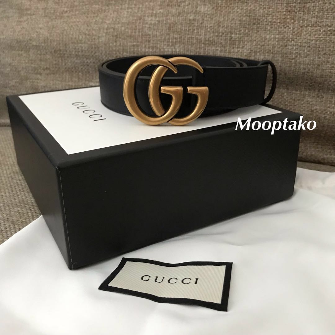 487bd1e5d Authentic GUCCI GG Marmont Belt 3cm, Luxury, Accessories, Belts on ...
