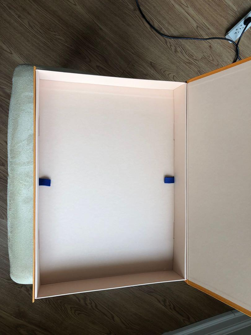Authentic Louis Vuitton XLarge Storage Box and Bag