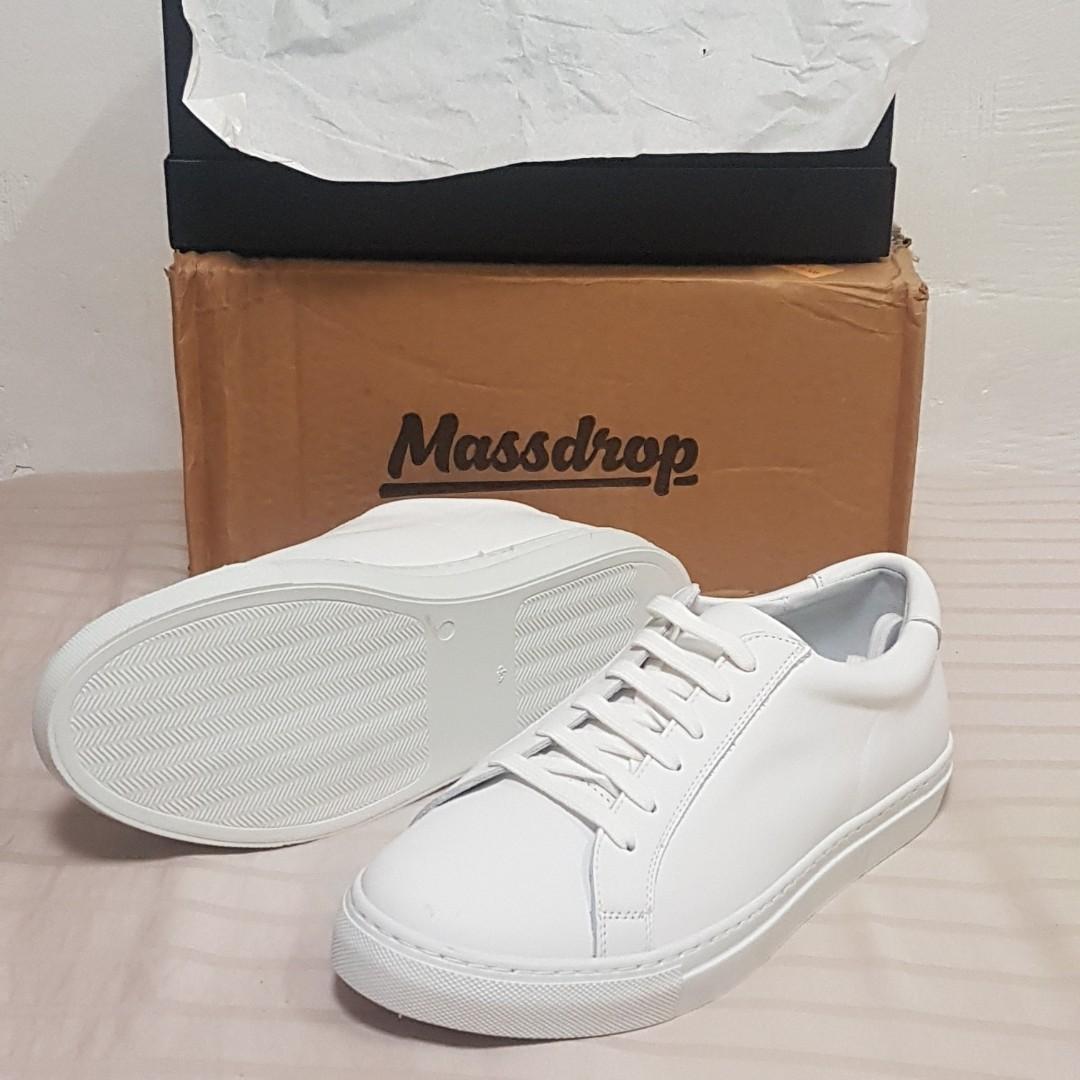 Massdrop Puro White Low-Top sneakers