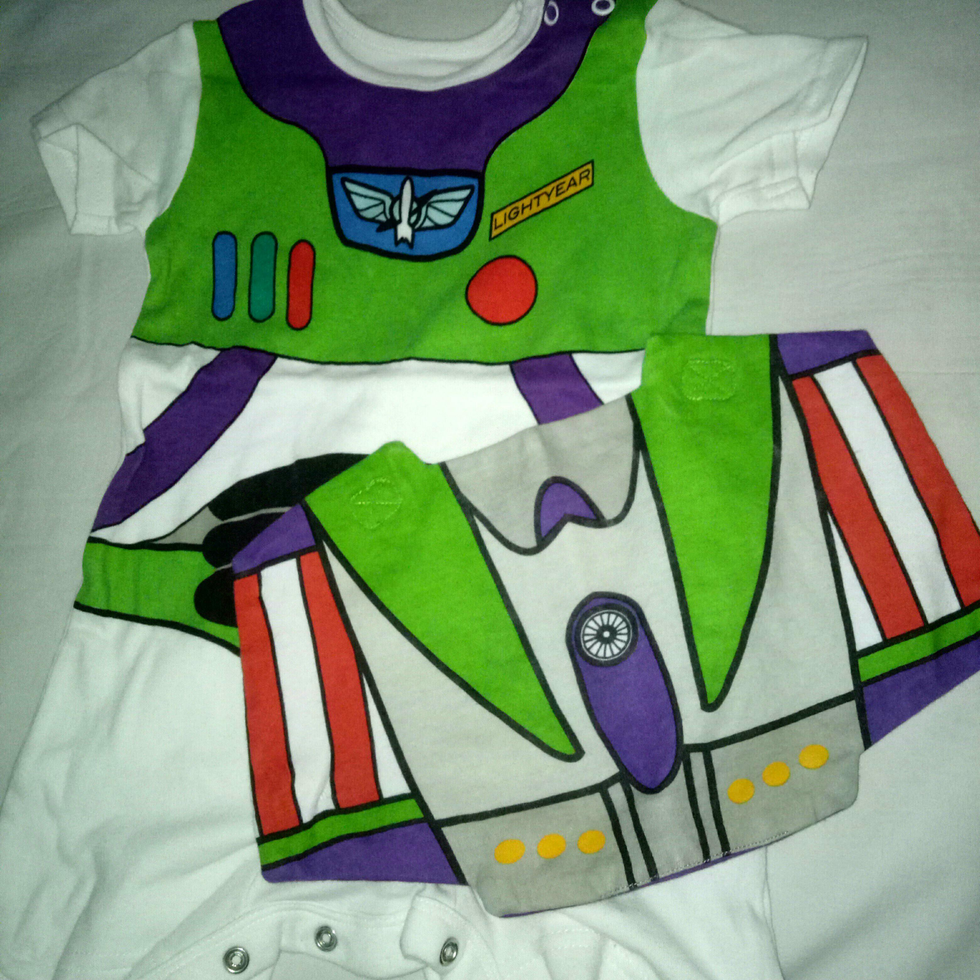 cf8d4cd05 Buzz Lightyear Onesie with buzz cape on Carousell