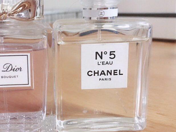Chanel Dior fragrance