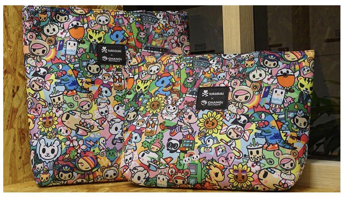 Changi Tokidoki Mother & Daughter Tote Bag
