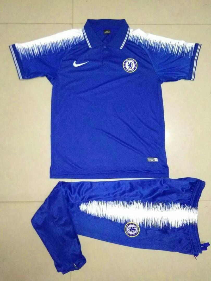 separation shoes 01da8 56796 Chelsea 2019 Blue Polo Kit, Sports, Sports Apparel on Carousell