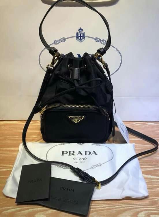 803e184991f6bb SOLD OUT Prada Tessuto Mini Bucket Crossbody Bag Prada Mini Bucket Bag  Prada Tote Bag Prada Hand Bag Prada Sling Bag Prada Shoulder Bag Prada  Bucket Bag ...