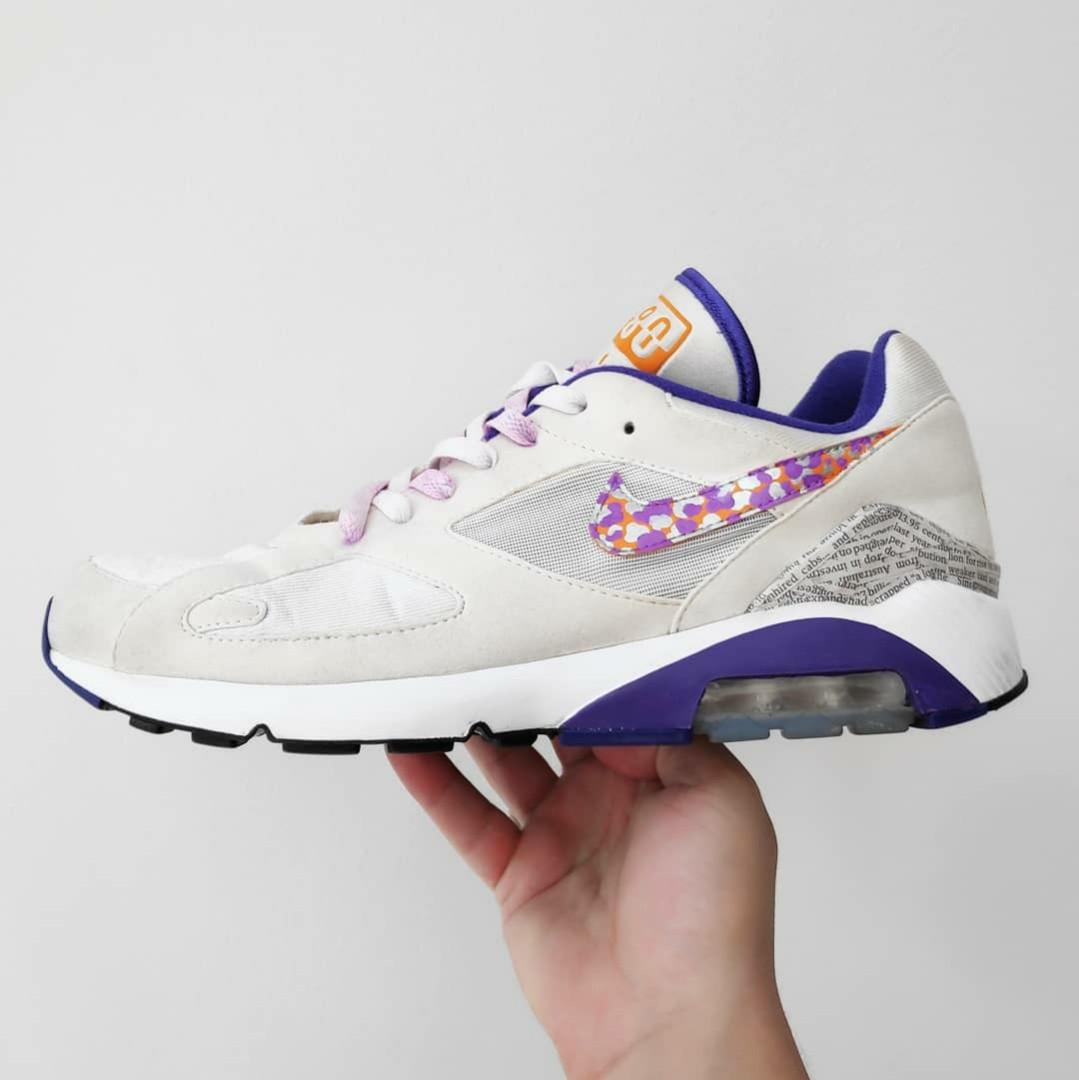 6cbecddeb4 Custom Nike Air Max 180- 1 of 1 made!!!!, Men's Fashion, Footwear ...