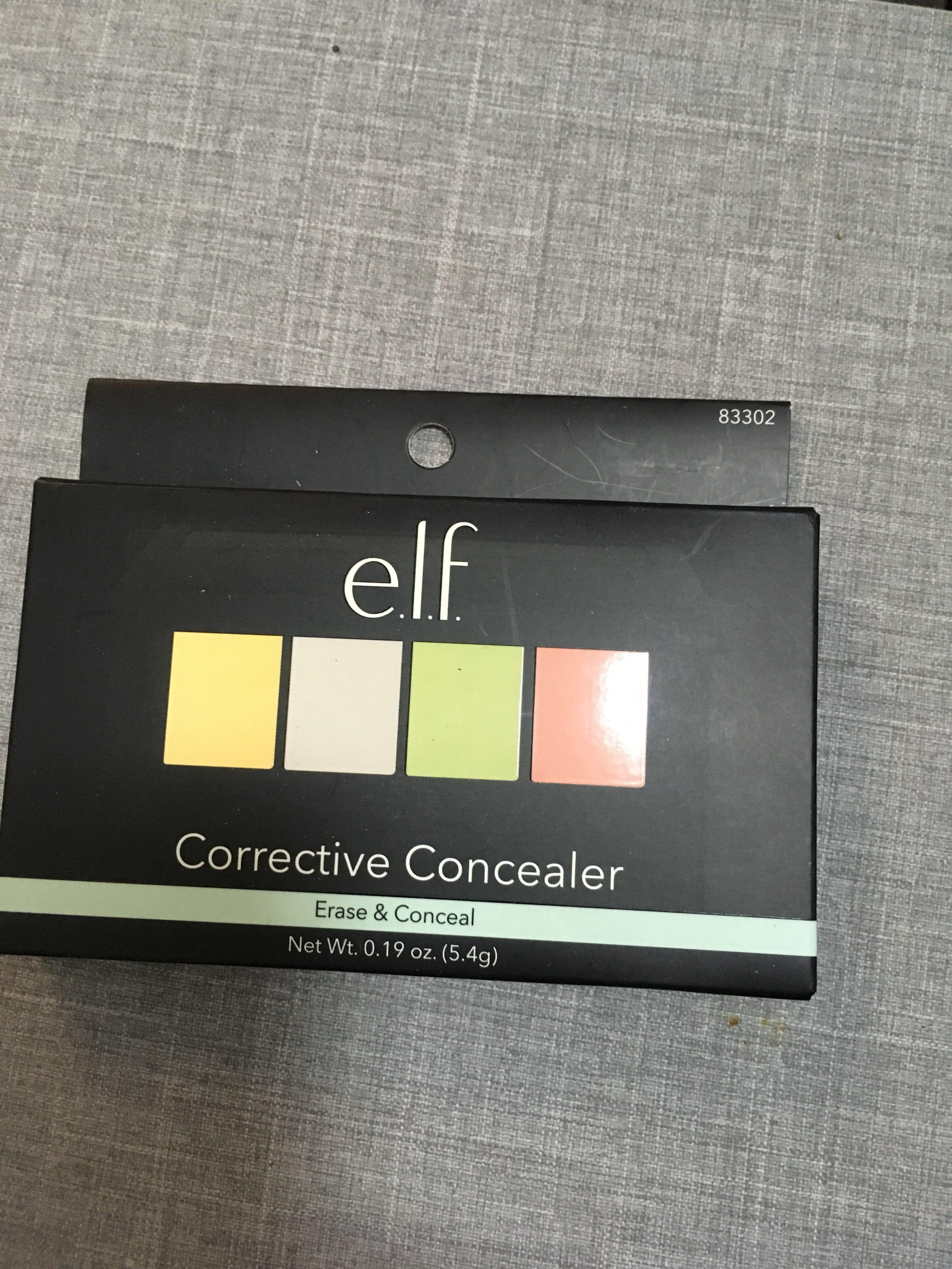 e.l.f. Corrective Concealer Palette 校色遮瑕盤