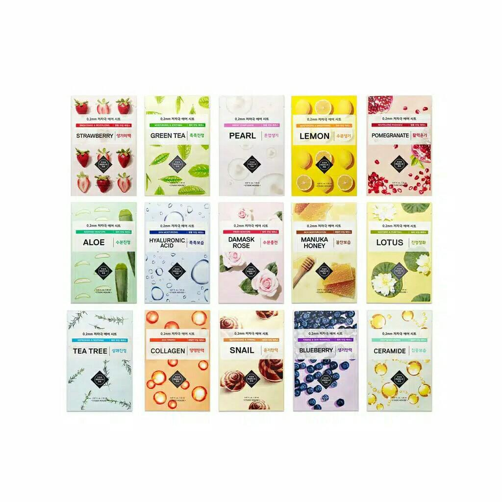 Etude House 0.2 MM therapy air mask sheet