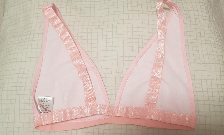 Fashion nova On guard bikini set high waisted sexy swimwear blush pink