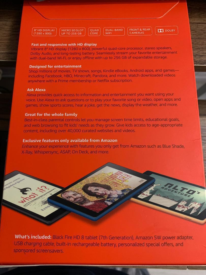 Fire HD 8 Tablet | Price Reduced