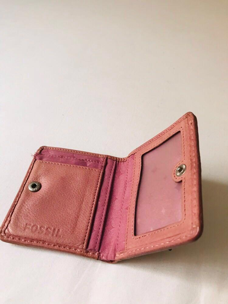 Fossil Light Pink Wallet