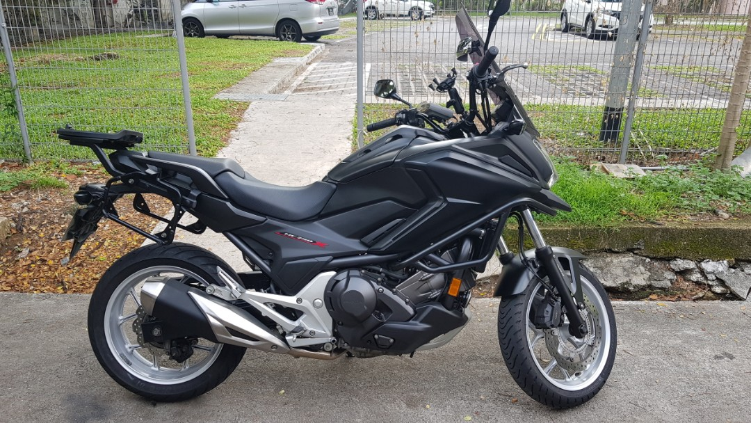 Honda Nc750x Dct Motorbikes Motorbikes For Sale Class 2 On Carousell