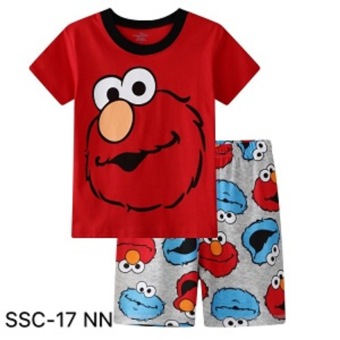 5d299984 INSTOCK ELMO TEE SET, Babies & Kids, Boys' Apparel, 4 to 7 Years on ...