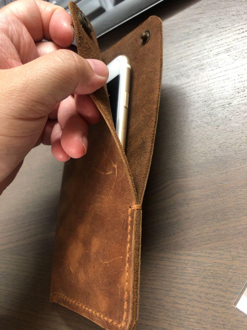 Iphone6/6S/7/8實用皮套皮袋 電話皮殼電話皮套