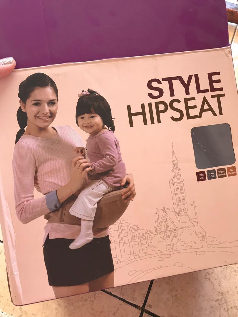 Kalemi style hipseat carrier gendongan bayi