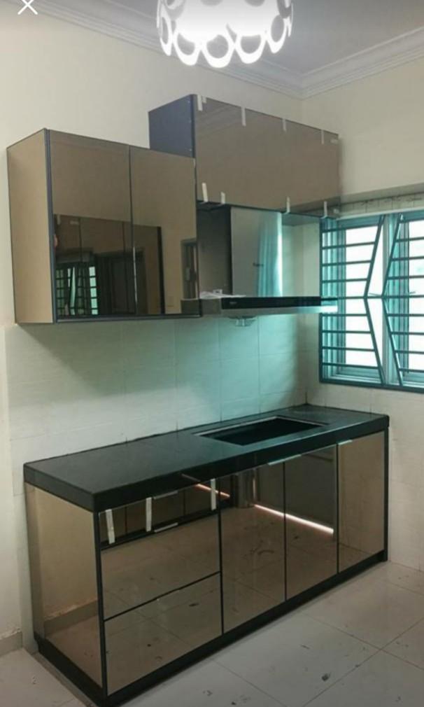 Kitchen Cabinet Dapur Kabinet Carpenter Quartz Stone 4g Home
