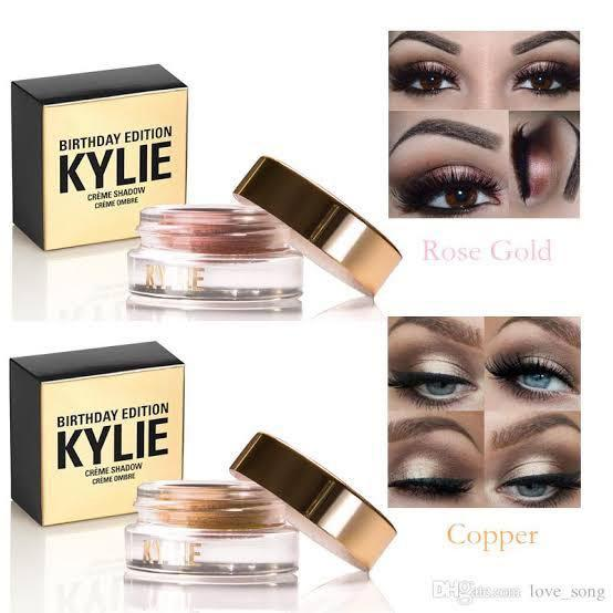 Kylie creme shadow copper birthday edition