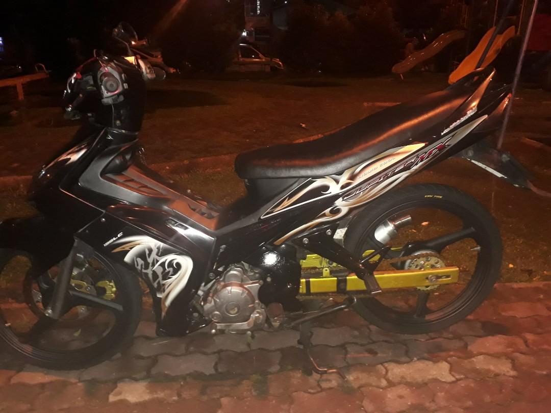 Lc135 V1 ((2009))   Clucth 4speed first generation