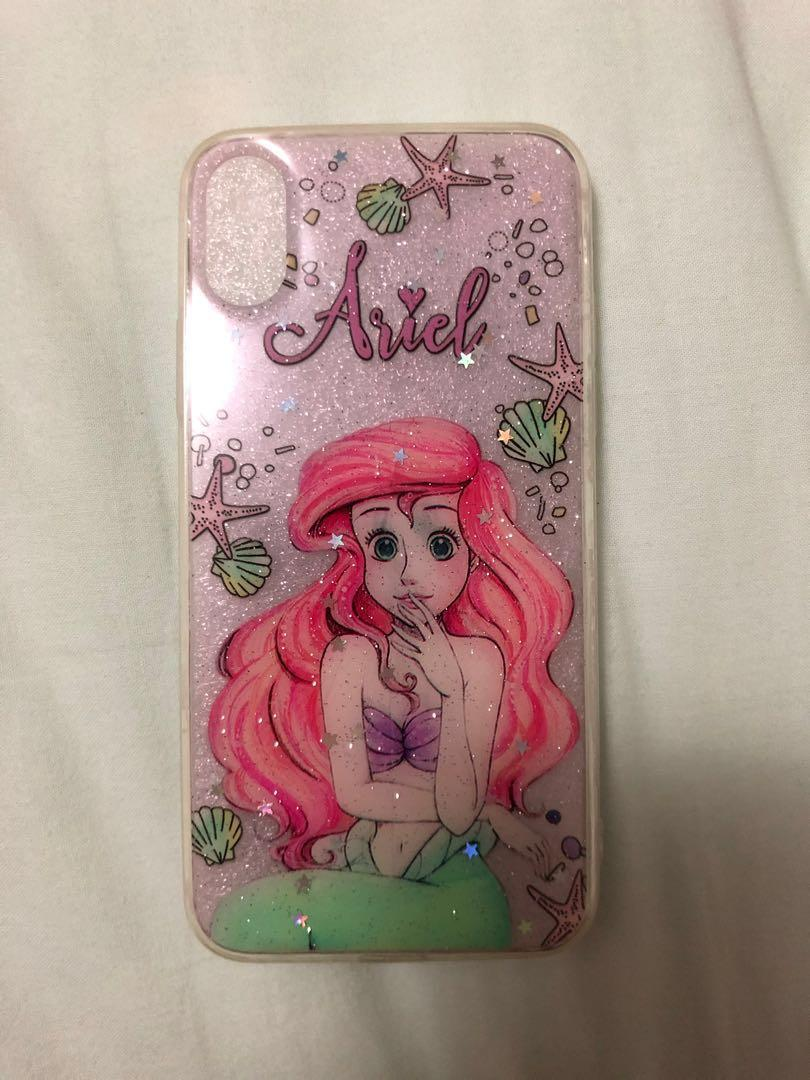 Little Mermaid Case for iPhone X