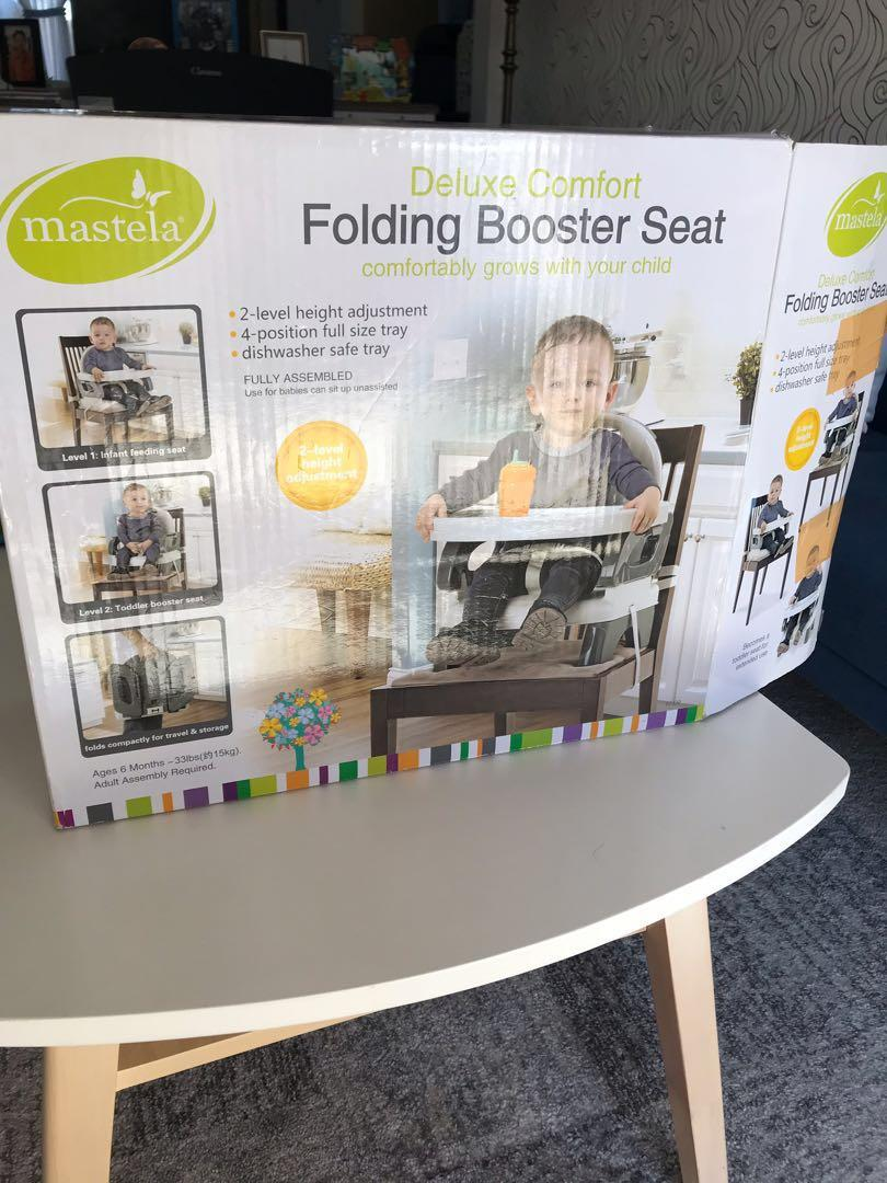 Mastela Booster Seat/high chair/dudukan bayi buat makan