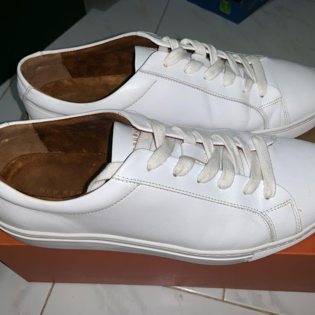 New Republic Kurt Leather White Sneaker
