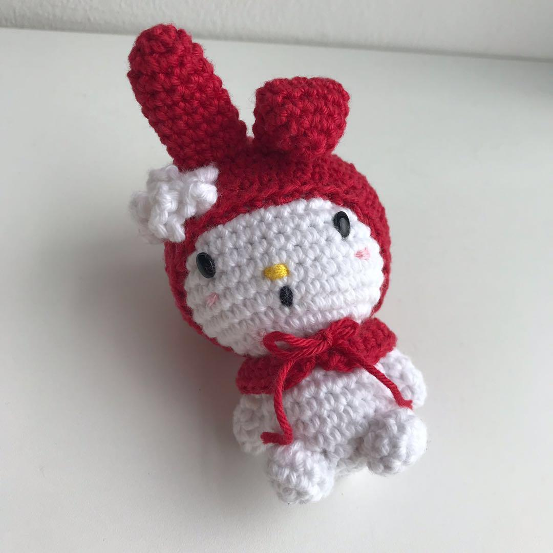 Cute Amigurumi Keychains Free Crochet Patterns | 1080x1080