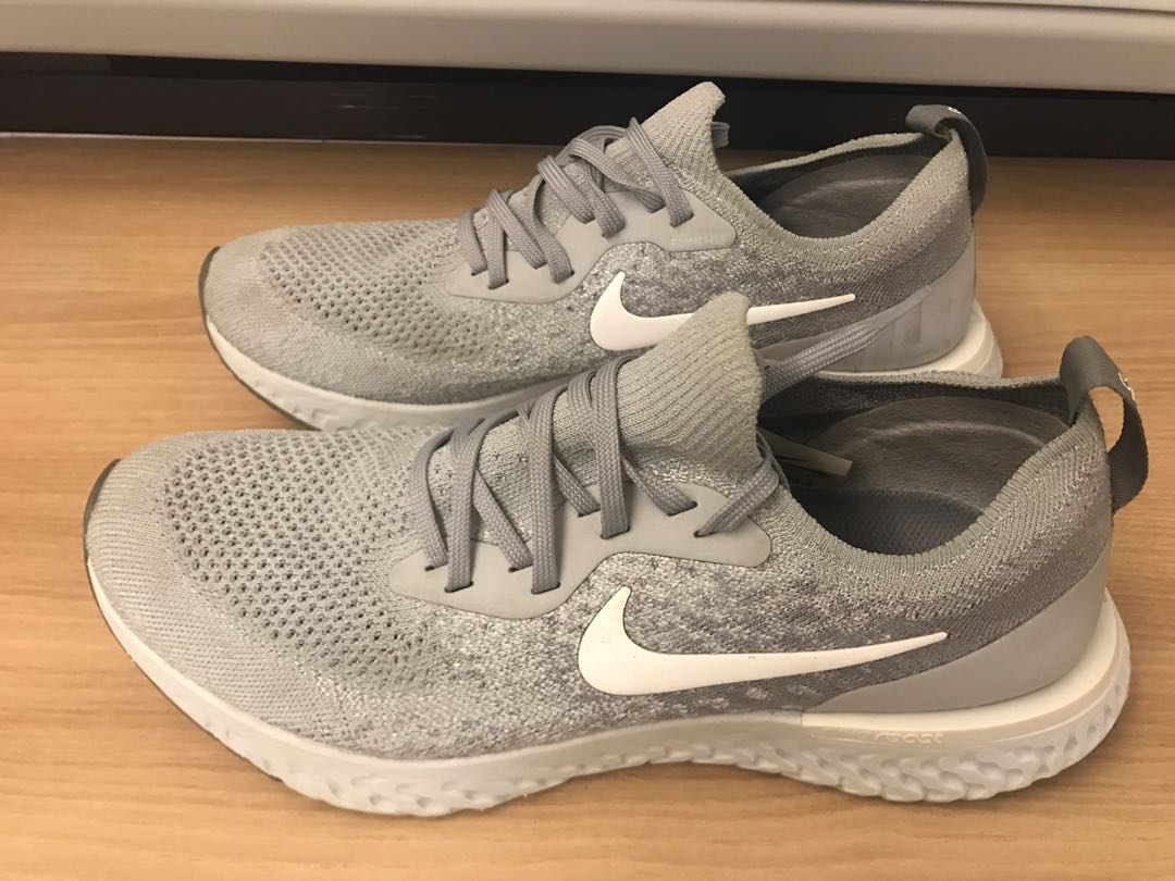 the best attitude c543a f9ce8 Nike Epic React (Grey), Men s Fashion, Footwear, Sneakers on Carousell
