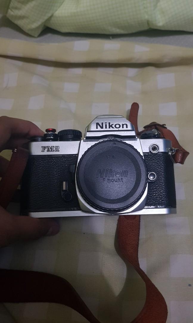 Nikon FM2 Body Only (hasil foto bisa chat)