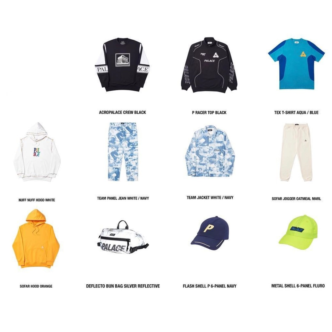 2e862f21 Palace Week 5 Preorder SS19 Tri Ferg, Men's Fashion, Clothes, Tops ...