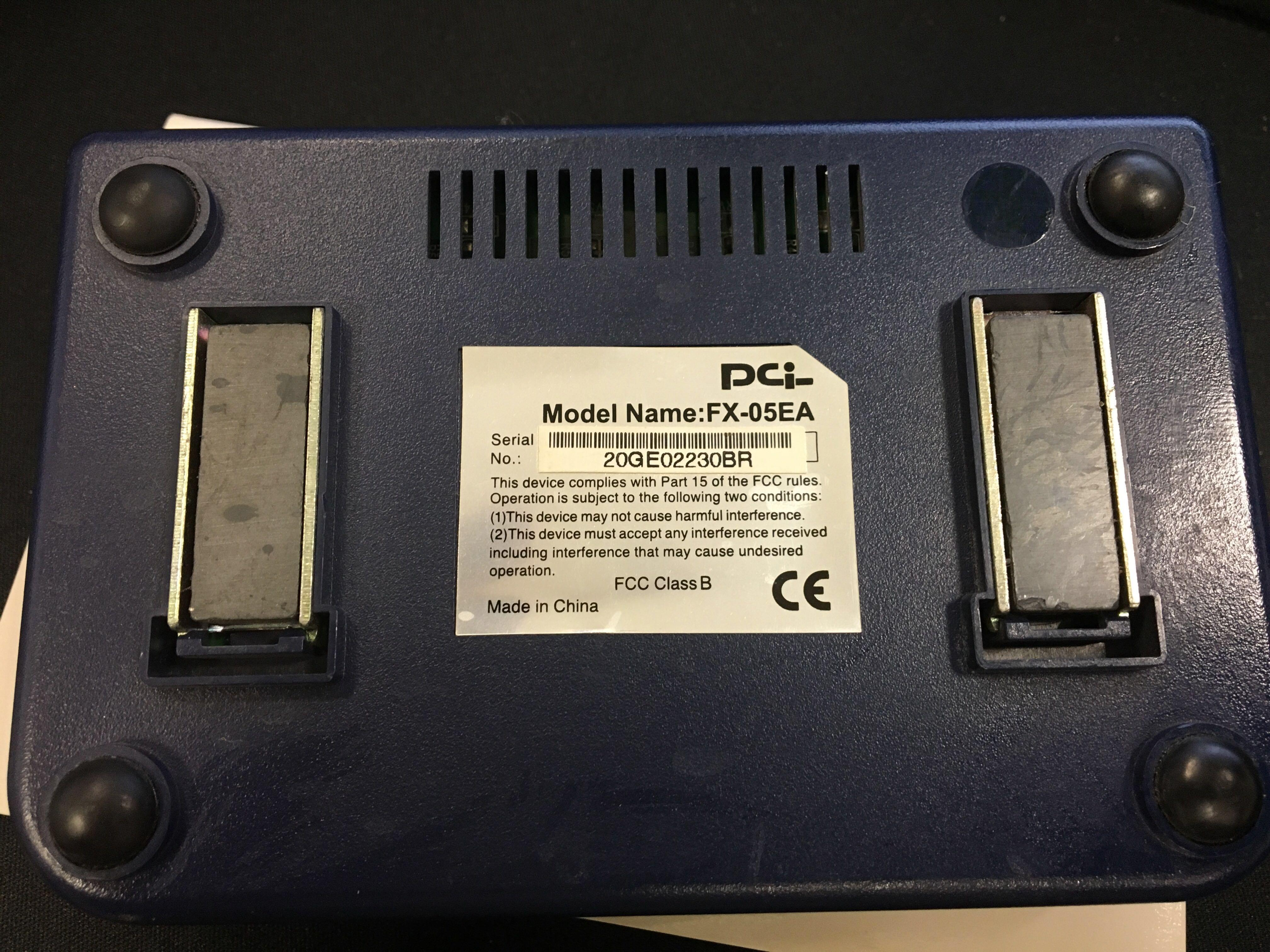 PCi Ethernet Switching Hub for PC Mac