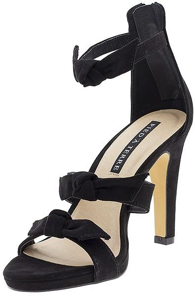 Pied A Terre Shinebright Stiletto Bow Heels | Size 6
