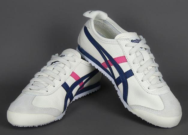 online store d774a 78ffb PO] Asics Onitsuka Tiger Mexico 66 Women's Shoes in White ...