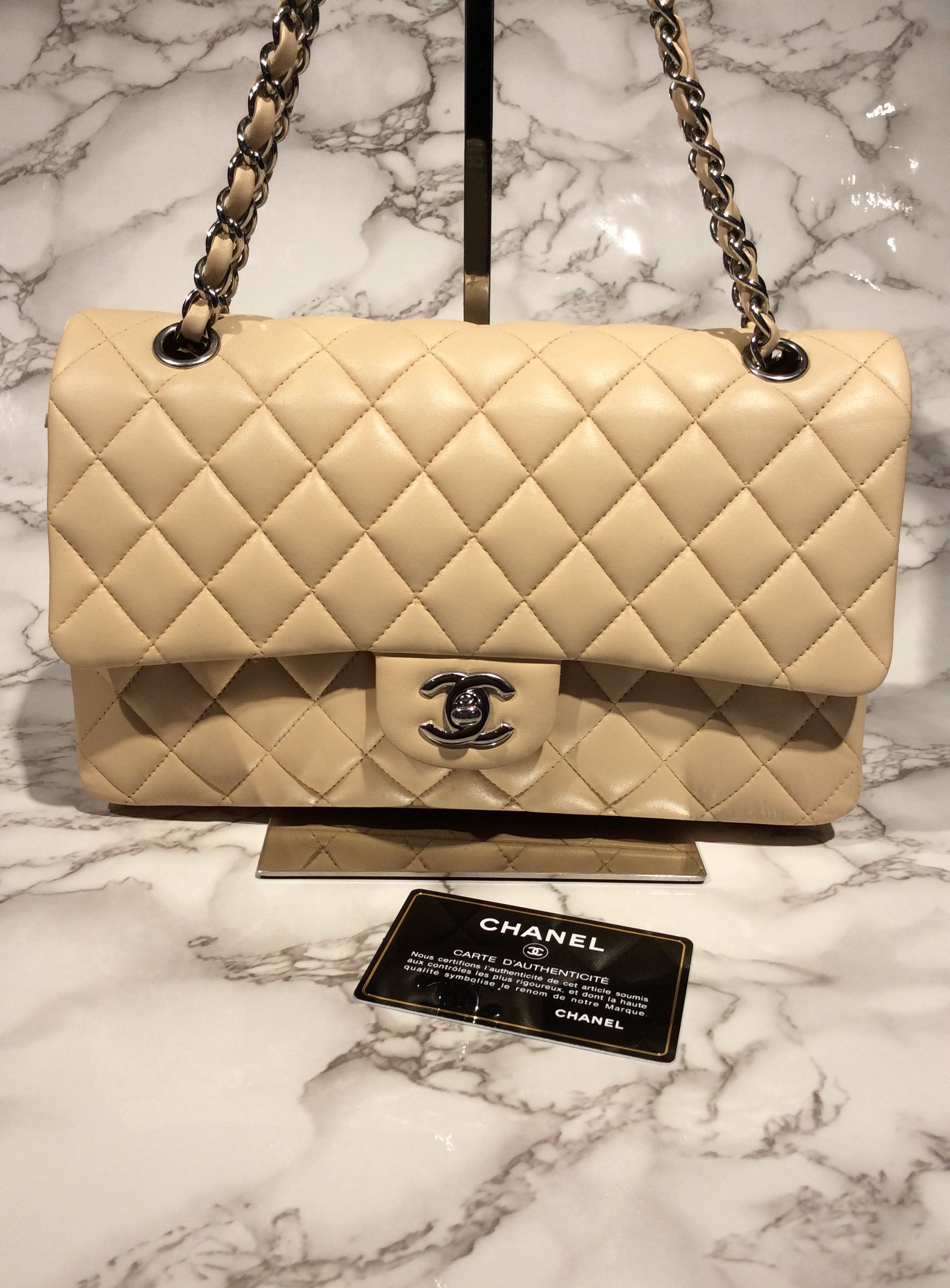 f6f0bda3fe0c Preloved Chanel Jumbo Double Flap, Luxury, Bags & Wallets, Handbags ...