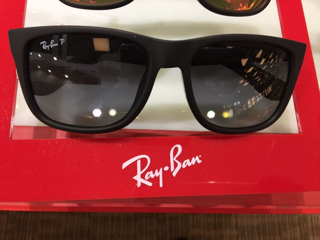 8f78c1ac3 Ray Ban Justin Classic RB4165 Brand New, Men's Fashion, Accessories ...