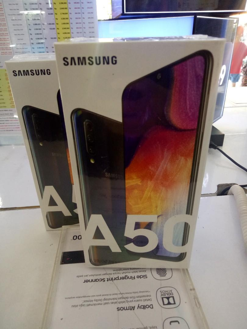Samsung Galaxy A50 4/64 & 6/128 ready bisa kredit proses cepat