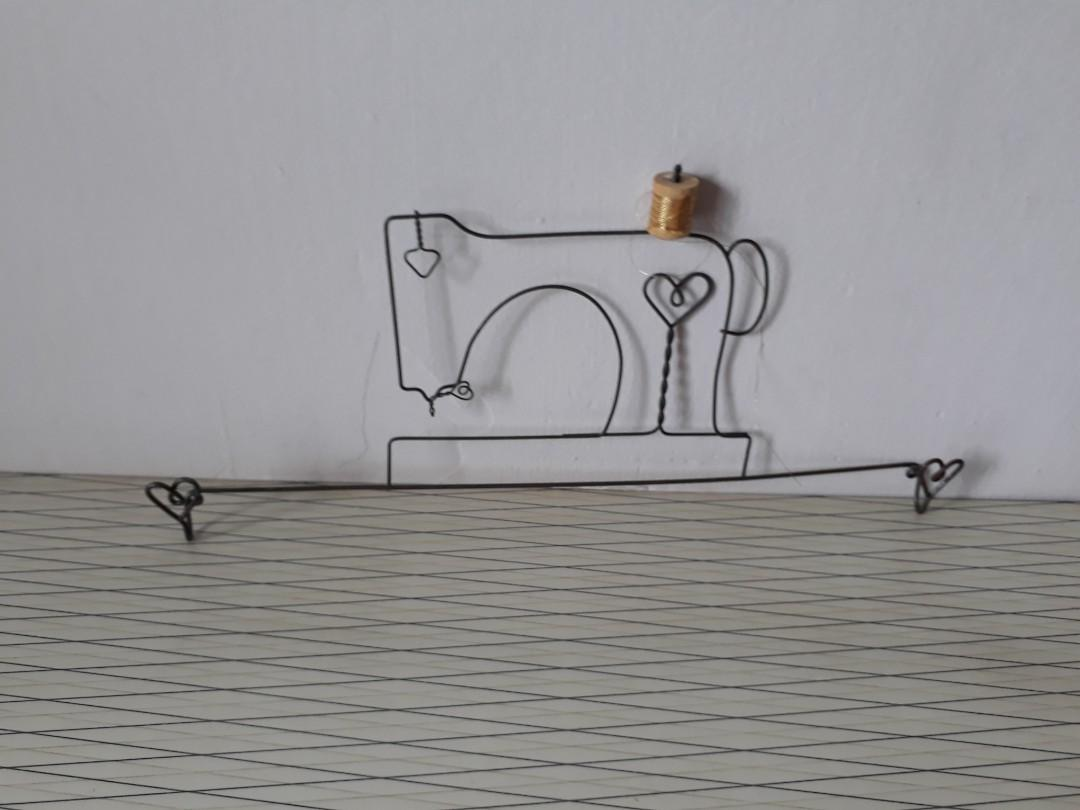 Sewing machine frame